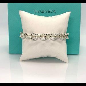 """Tiffany & Co. Jewelry - Return to Tiffany & Co. Round Charm Bracelet 7.5"""""""